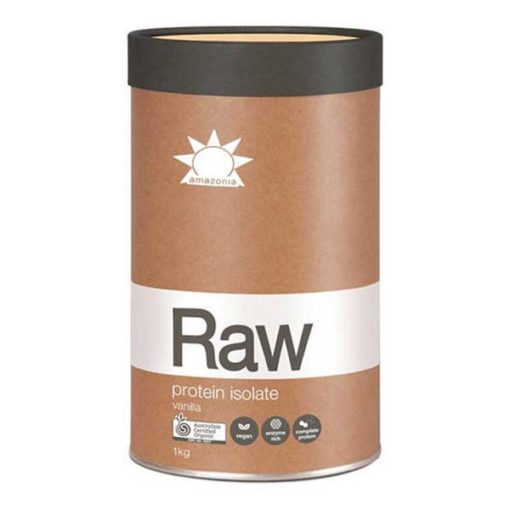 Amazonia RAW Organic Pea/Rice Protein Isolate        1kg