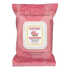 Burt's Bees Pink Grapefruit Facial Cleansing Wipes        170g