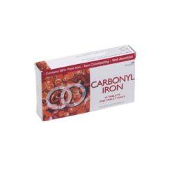 Carbonyl Iron        30 Tablets