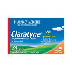 Claratyne Hayfever & Allergy Relief 10mg Tablet        60 Tablets