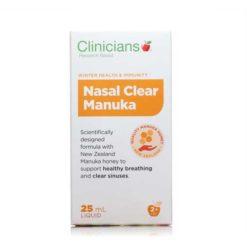 Clinicians Nasal Clear Manuka Nasal Spray        25ml Sprays