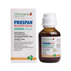 Clinicians Prospan Menthol Syrup        100ml