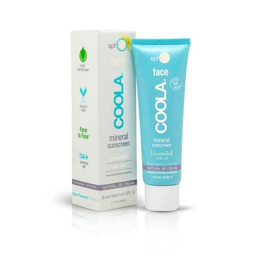 Coola Mineral Face SPF30 Unscented Matte Tint Sunscreen    50ml