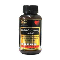 Go Co-Q10 400mg 1-A-Day        60 Capsules
