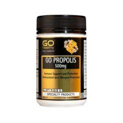 Go Propolis 500mg - Immune & Allergen Protection        180 Capsules