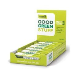 Good Green Stuff Bar - Box of 12        40g Bars x 12