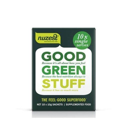 Good Green Stuff        10 Sachets Box