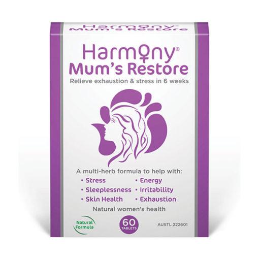 Harmony Mum's Restore        60 Tablets