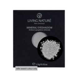 Living Nature Mineral Eyeshadow Glacier (Shimmer - light grey) 1.5g