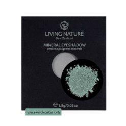 Living Nature Mineral Eyeshadow Greenstone (Shimmer - dark green) 1.5g