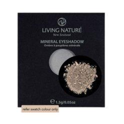 Living Nature Mineral Eyeshadow Sand (Matte - creamy vanilla white) 1.5g