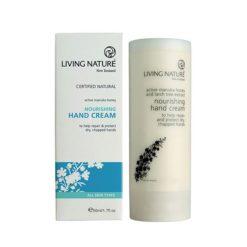 Living Nature Nourishing Hand Cream    50ml