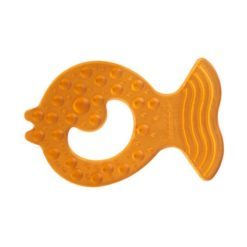 Natural Rubber Soothers Fish Teether