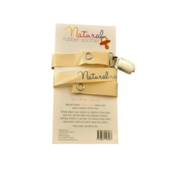 Natural Rubber Soothers Soother Saver