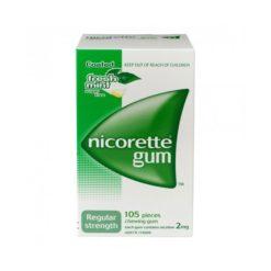 Nicorette Gum - 2mg        105 Gum