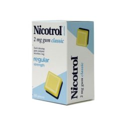 Nicotrol Gum Classic 2mg        105 Gum