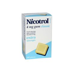 Nicotrol Gum Classic 4mg        105 Gum