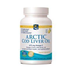 Nordic Arctic Cod Liver Oil - Lemon        180 Soft Gels