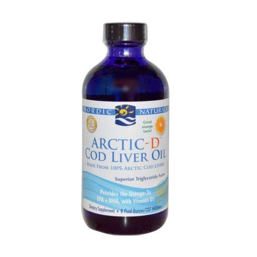 Nordic Arctic Cod Liver Oil - Orange        473ml