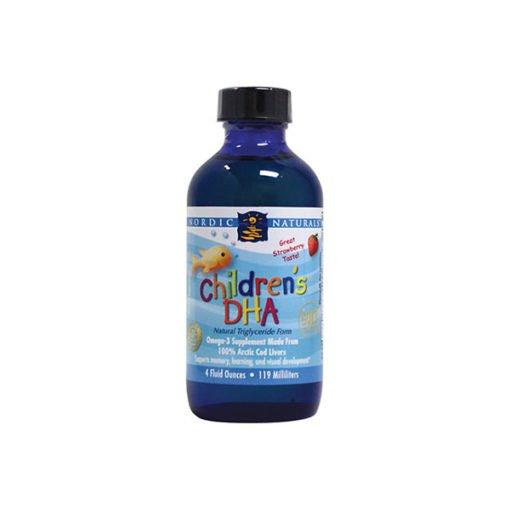 Nordic Children's DHA Liquid - Strawberry        237ml