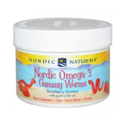 Nordic Omega-3 Gummy Worms        30 Worms