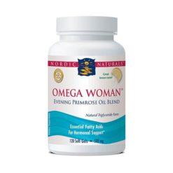 Nordic Omega Woman - Lemon        120 Soft Gels