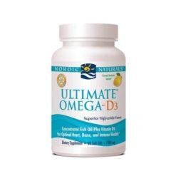 Nordic Ultimate Omega D3        60 Soft Gels