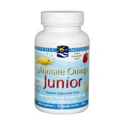 Nordic Ultimate Omega Junior        90 Soft Gels