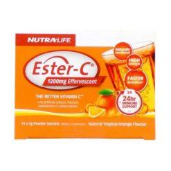 Nutra Life Ester C 1200mg        15 Sachets