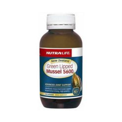 Nutra Life NZ Green Lipped Mussel 5600        100 Capsules