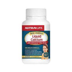 Nutra Life NZ Liquid Calcium With Stimucal Plus Vit D3        60 Capsules