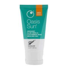 Oasis Organic Aloe Vera Cucumber Skin Healing Gel        50ml