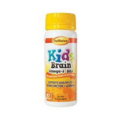 Radiance Kids Brain Omega 3 DHA        50 Tablets