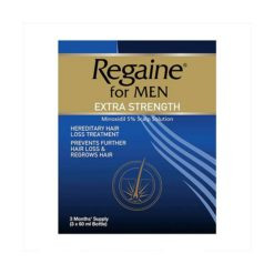 Regaine Extra Strength Solution 5%        3 x 60ml