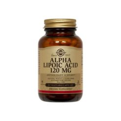 Solgar Alpha Lipoic Acid 120mg        60 VegeCapsules