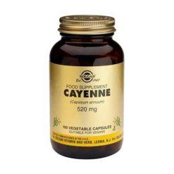 Solgar Cayenne 520 mg 100 VegeCapsules