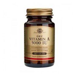 Solgar Dry Vitamin A 5000IU 100 VegeTablets