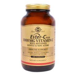 Solgar Ester C Plus 1000 mg 180 VegeTablets