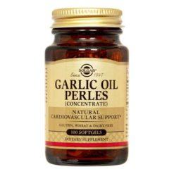 Solgar Garlic Oil Perles 100 Softgels