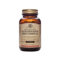 Solgar Glucosamine MSM Complex Shellfish Free        60 VegeCapsules
