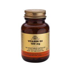 Solgar Vitamin B6 100mg (pyridoxine)        100 VegeCapsules