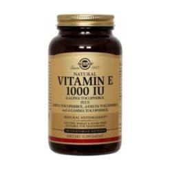 Solgar Vitamin E 1000 IU Mixed        50 Capsules