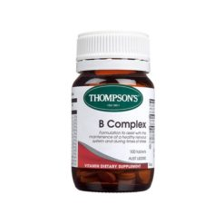 Thompsons Regular B Complex        100 Tablets