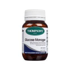 Thompsons Glucose Manager        60 Capsules
