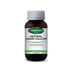 Thompsons Liquid Calcium 350mg        60 Capsules