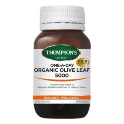 Thompsons One-A-Day Olive Leaf 5000        60 Capsules