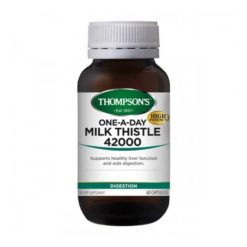 Thompsons One-A-Day Milk Thistle 42000        30 Tablets