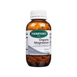 Thompsons Organic Magnesium        30 Tablets