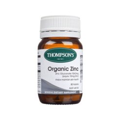 Thompsons Organic Zinc        80 Tablets