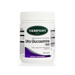 Thompsons Ultra Glucosamine 1500        180 Tablets